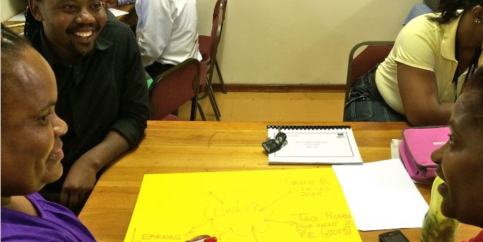 Co-design workshop: Liwa Primary School in Nyanga – Teachers