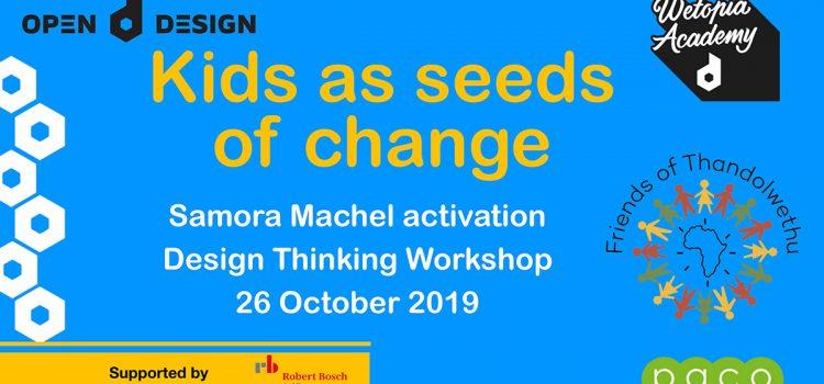 Co-design workshop – Kids as seeds of change